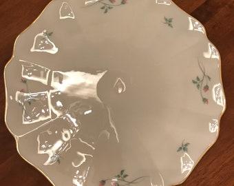 Lenox Rose Manor Platter or Cake Plate