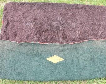 RARE Antique 1890's S&H Borbridge Buffalo Robe Carriage Buggy Sleigh Blanket Cover