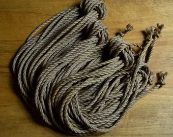 Full Kit Ten (10) Pieces - Jute Rope 6mm by 8m