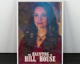 A4 The Haunting of Hill House 1 Movie Poster Canvas Picture Art Print A0
