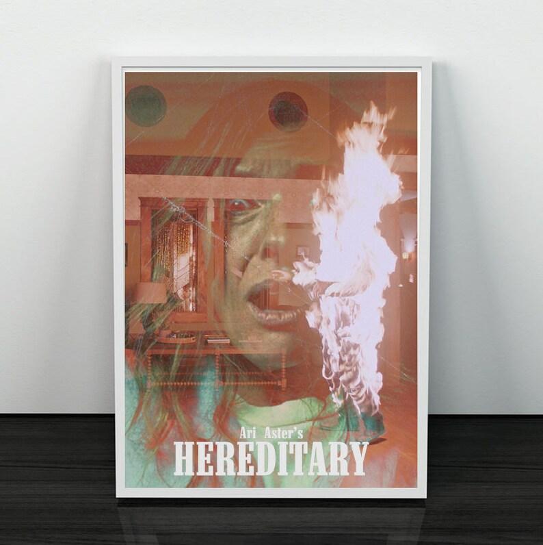 Hereditary 2018 Ari Aster Horror Vintage Movie Retro Film Etsy