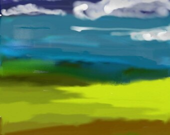 Digital Art Landscape