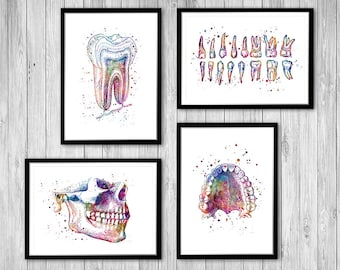 Tooth Art Drawing