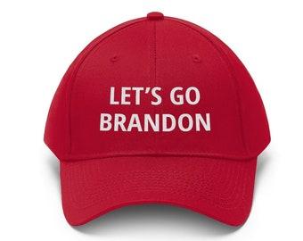 Let's Go Brandon Embroidered Dad Hat FJB Anti Biden Chant Baseball Cap