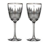 Waterford Personalized Lismore Diamond Red Wine Glasses, Set of 2