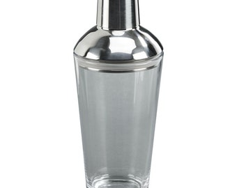 Engraved//Personalised Deluxe Black Cocktail Shaker