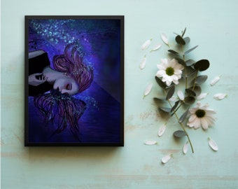 Ocean Embrace | Framed Art Print | Wall Art | Framed Art | Art