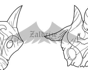 Kindred's masks blueprint