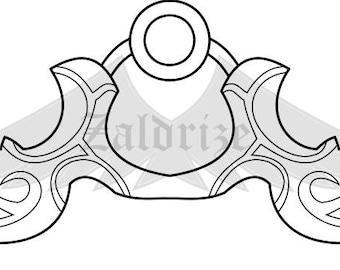 Kindred's bow blueprint