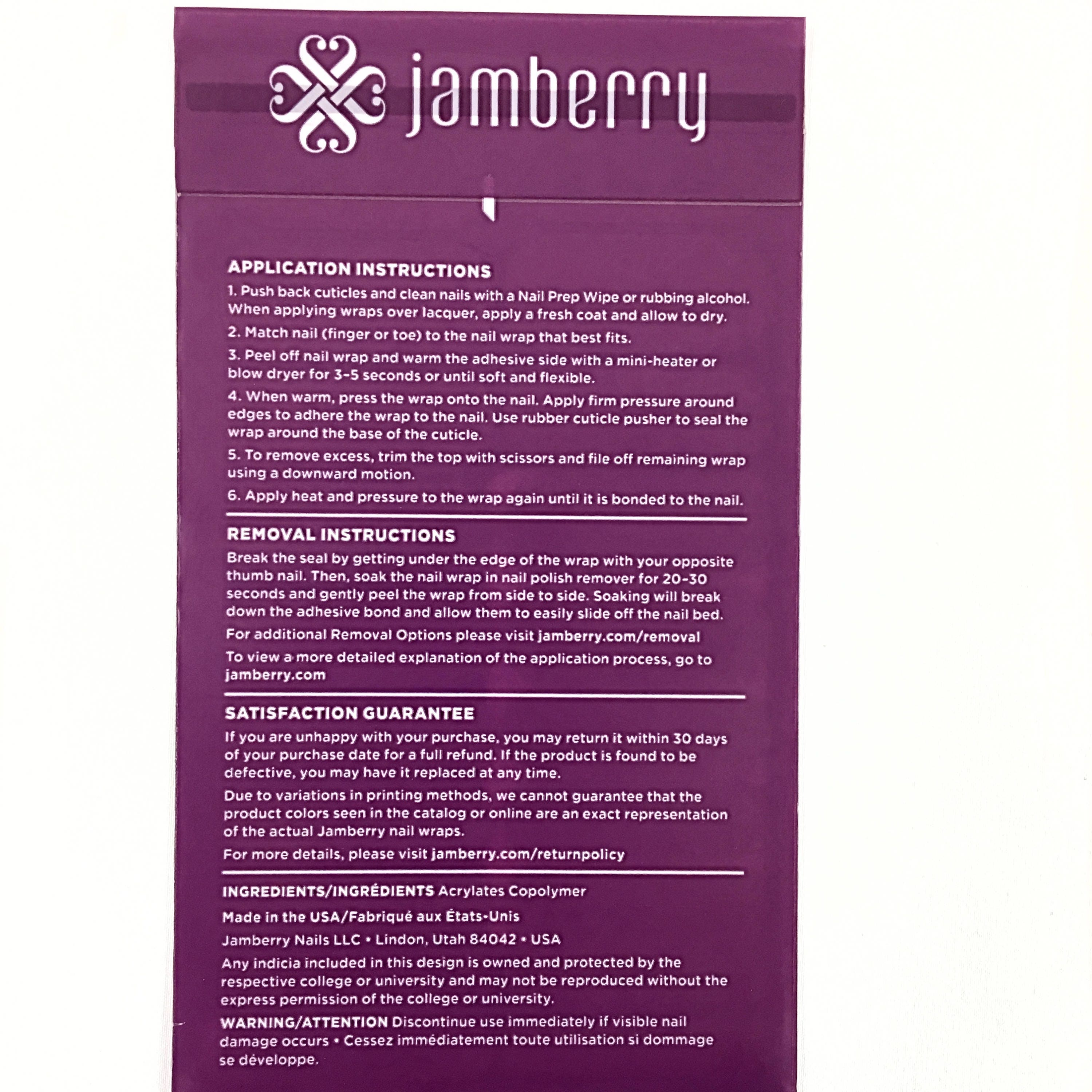 Jamberry Pattern Play Ikat Nail Wraps, StyleBox Exclusive, Full ...