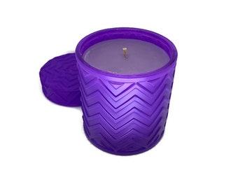 Biltmore (Lavender Lemongrass) Soy Candle - 16 oz. Purple Siona Jar
