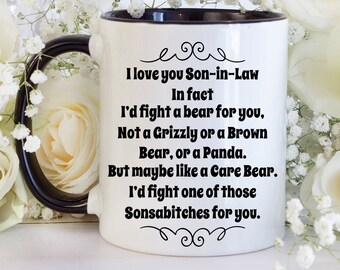 Son In Law Gift Funny Gifts For Birthday Ideas Wedding