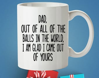 Fathers Day Gift From Daughter Son For Dad Birthday Mug Funny Custom
