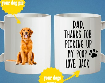 Dog Dad Gift From The For Lover Husband Birthday Owner Best Ever Custom