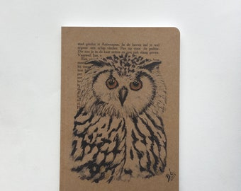 Note Book Owl