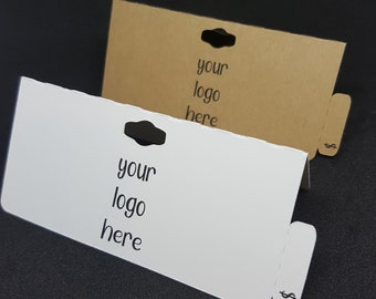 Bag Topper - Foldover Hang Tags - Price Tags - Logo Tags