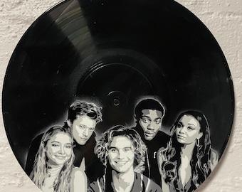 Outer Banks Vinyl Record Art