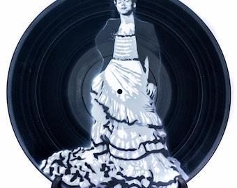 Harry Styles in Dress Vinyl Record Art