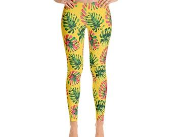 Tropical summer Leggings