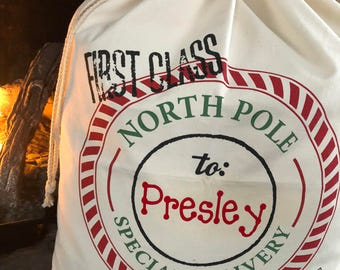 Santa bag XL *customized*