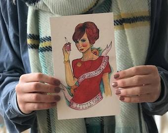 Joan Holloway Mad Men Sticker