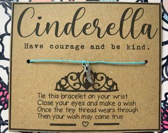 Disney Princess inspired wish bracelet, cinderella, snow white, elsa,  moana, mulan, bff, cute, friendship, family, sibling, gift, disney