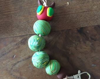Very Hungry Caterpillar lanyard