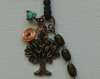 Tree of Life Cell Phone Charm