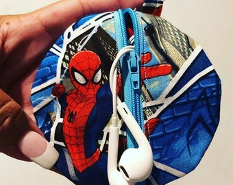 Spider-Man headphone case