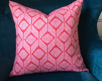 Red and white pillow covers,Ikat  pillow cover ,sofa pillow cover