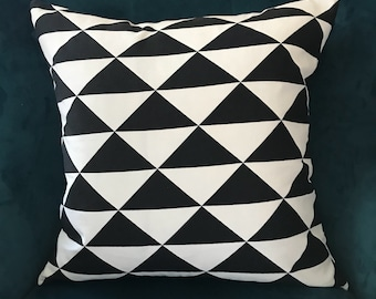 Black and white pillow cover ,sofa pillow cover