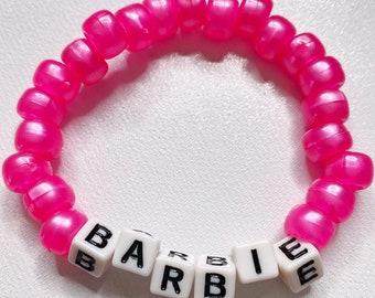 """Pink """"Barbie"""" Bracelet"""
