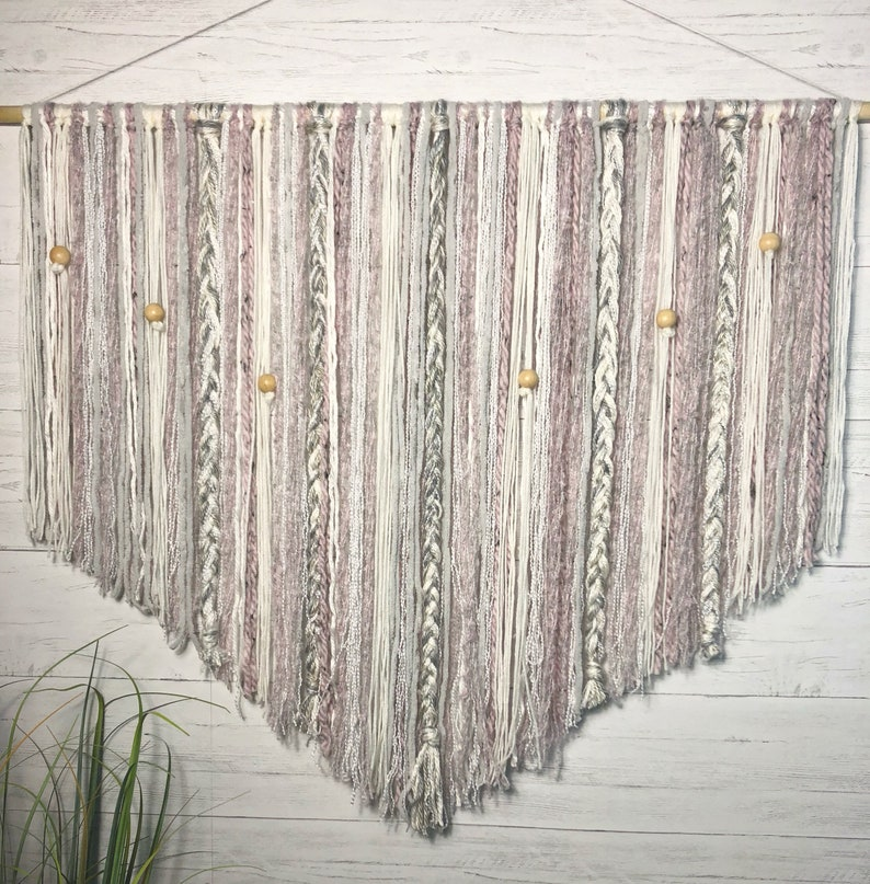 Large Macrame wall hanging // dorm decor // Boho decor // wall image 0