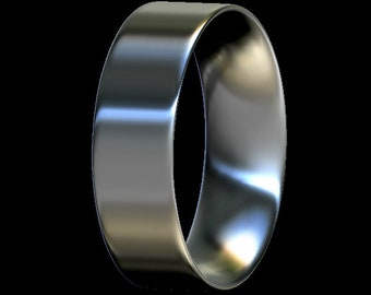 Ring Core, Comfort Fit, Sterling Silver, For Ring Making