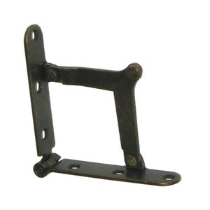 Salvage Antique Drop Front Desk Hinges or for Old Trunk Box Lid Long 5 12 #X26