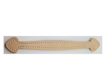 """Leather Trunk Handle NATURAL 9-7//8/""""  L4253"""