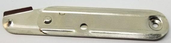 3.25 Inch CHEST STEAMER ANTIQUE VINTAGE Black Trunk Lock Cover
