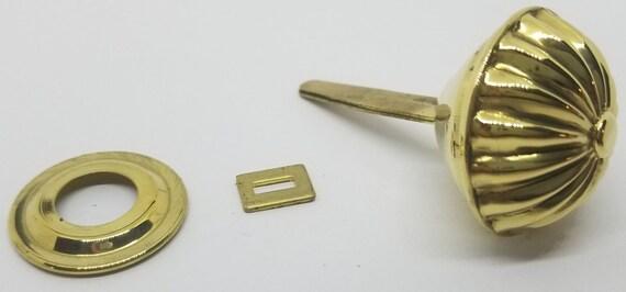 Brass-B-0336 Spool Cabinet Knob