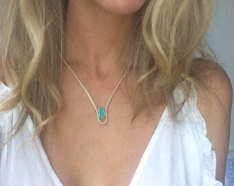 Erie Crystal Necklace