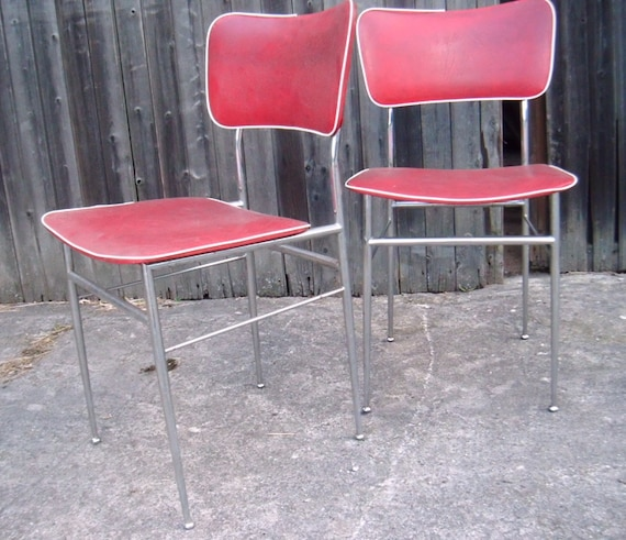 Mid century kitchen chair with upholstery * Make your own project with  pimp-factory.de