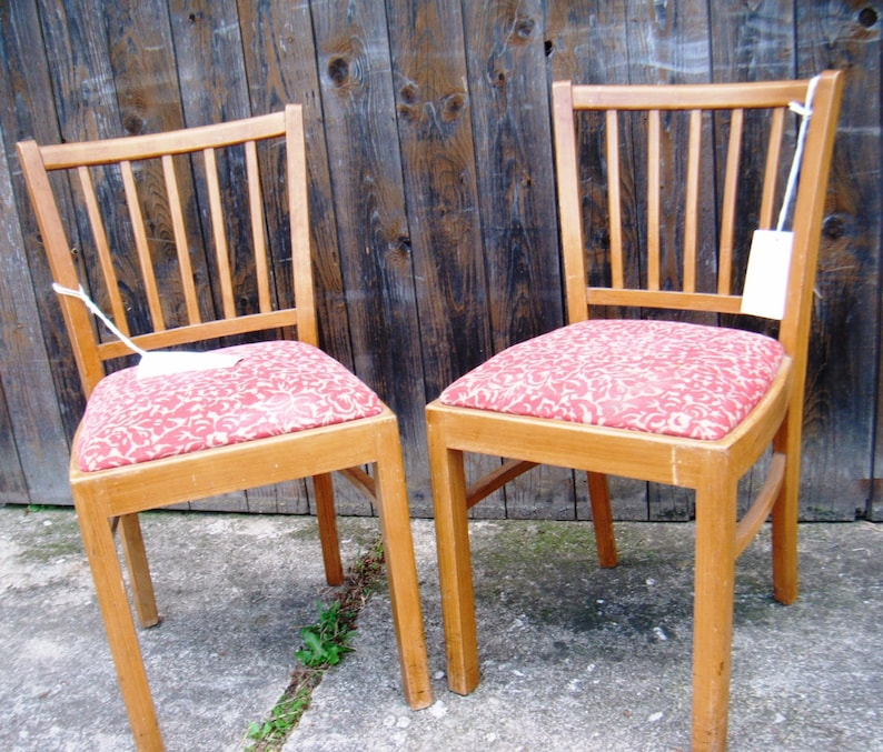 upholstered lisel Wooden chair with seat pad upholstery chair with sprouts Make your own project with pimp-factory.de