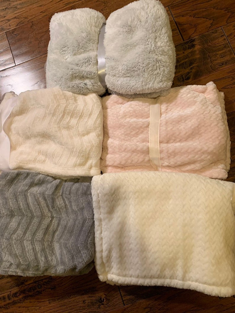 Personalized baby blanket super plush