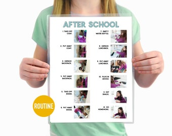 After School Routine Step by Step Daily Chore Guide