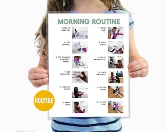 Morning Routine Step by Step Daily Chore Guide