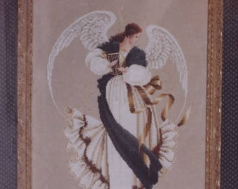 Counted Cross Stitch Pattern | Lavender & Lace | Angel of Hope