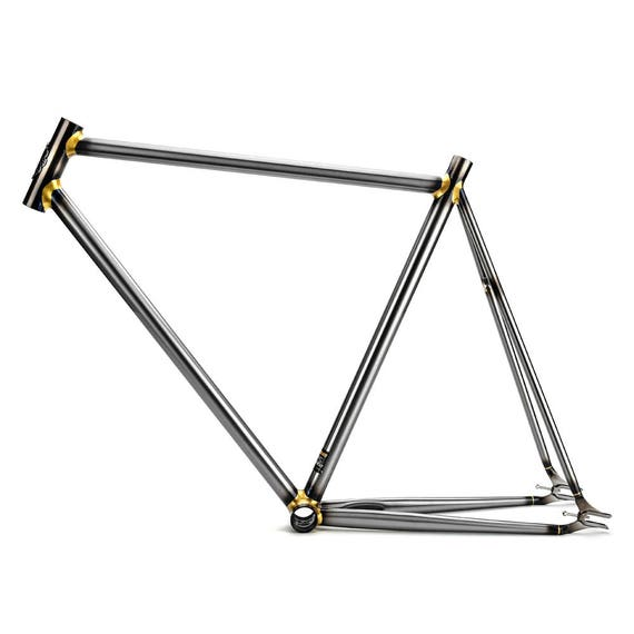 fixed gear Bike frame Columbus 4130 Chrome molybdenum steel | Etsy