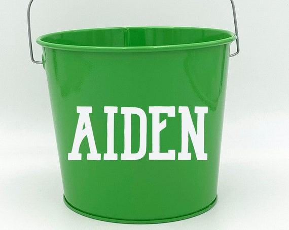 Personalized Name Pail ~ Bucket