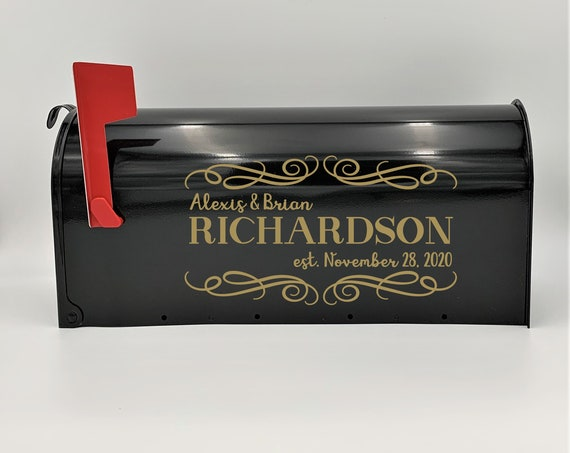 Personalized Wedding Card Mailbox ~ Wedding Card Box ~ Wedding Decor ~ Engagement Party ~ Bridal Shower ~ Anniversary ~ Decor ~ Reception