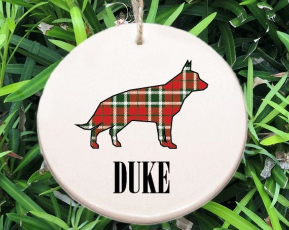 Personalized Dog Ornament ~ Choose the Breed ~ Free Personalization