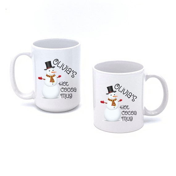 Personalized Hot Cocoa Mug